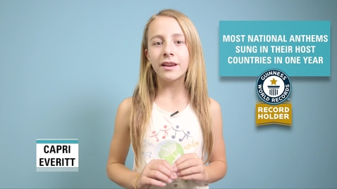 Thumbnail for entry Most national anthems sung in their host countries in one year