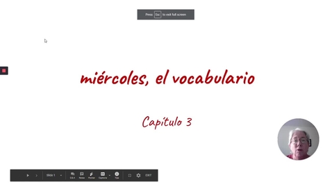 Thumbnail for entry CP 3 MIERCOLES VOCAB