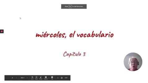 Thumbnail for entry CP 3 MIERCOLES VOCAB