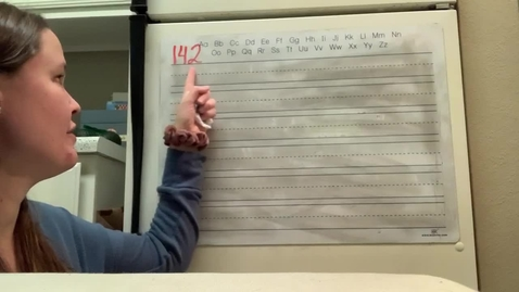 Thumbnail for entry Spelling Lesson 142