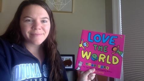 Thumbnail for entry Mrs. Talbot: Love the World