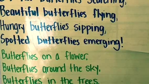 """Thumbnail for entry """"Butterflies Here & There"""" Sing-along"""