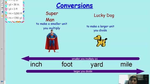 Thumbnail for entry Customary Length Conversions