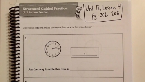 Thumbnail for entry Unit 12, Lesson 4 Helpful Tips