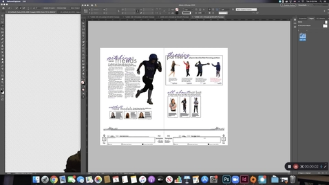 Thumbnail for entry Text Wrap Around Cutout in InDesign