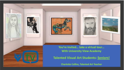 Thumbnail for entry UVA Talented Art Showcase - High School 2020 Mrs. Collins