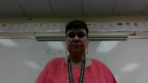 Thumbnail for entry Mrs. Martin's Math Lesson Chapter 18 Lesson 2 , Day 1.  May, 4, 2020