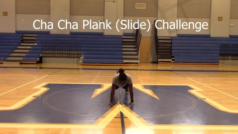 Thumbnail for entry Cha Cha Plank Challenge - Athletic Trainer - Chrystal Charles 1st Attempt