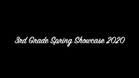 Thumbnail for entry 3rd grade showcase 2020 1