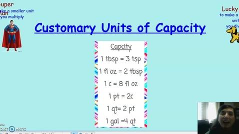 Thumbnail for entry capacity conversion
