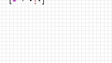 Thumbnail for entry Solving 3x3 Linear Systems with Row operations & Matrices con't