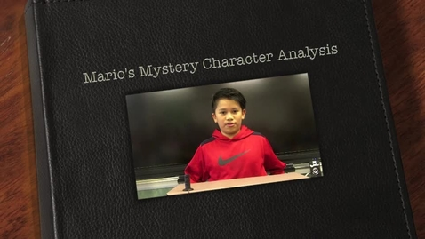 Thumbnail for entry Mario's Mystery Character Analysis