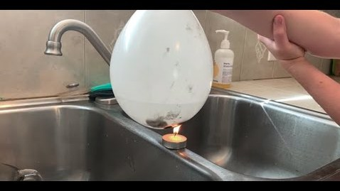 Thumbnail for entry STEM Shorts with Mr. C - Heating Water in a Balloon