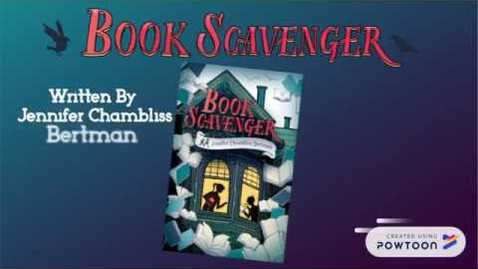 Thumbnail for entry Book Scavenger Book Trailer