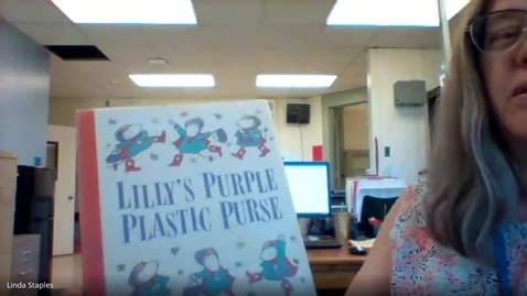 Thumbnail for entry Lilly's Purple Plastic Purse - Mrs. Staples