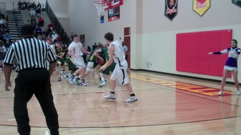 Thumbnail for entry St. Eds vs. LHS basketball playoff game
