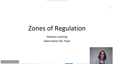 Thumbnail for entry Zones of Regulation