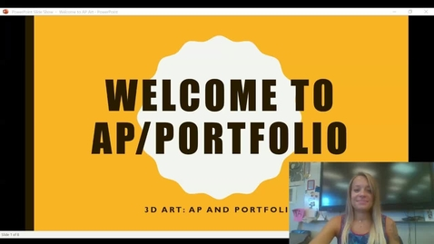 Thumbnail for entry Welcome to AP_Portfolio