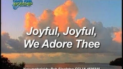 Thumbnail for entry Kids Worship Easter: Joyful Joyful We Adore Thee