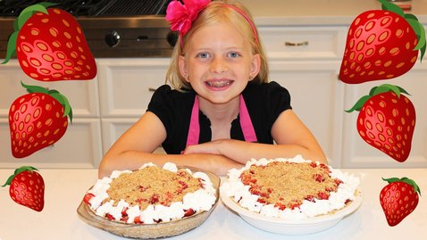 Thumbnail for entry Kid Size Cooking: Fresh Strawberry Pie