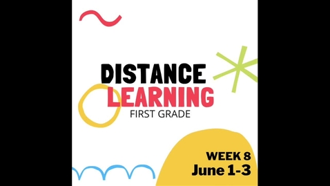 Thumbnail for entry Distance Learning W8
