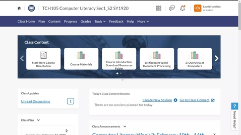 Thumbnail for entry Computer Literacy: Downloading Course Resources Folder