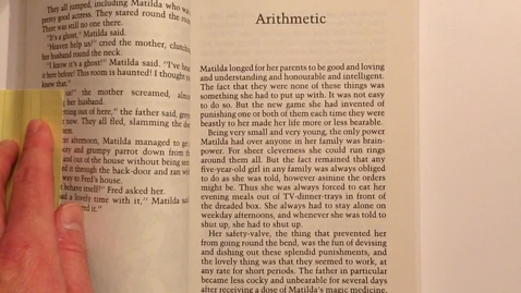 Thumbnail for entry Matilda, Ch. 5&6