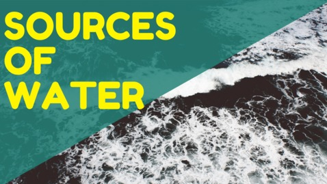 Thumbnail for entry Sources of Water | Water Distribution | Environment Science | EVS | LetsTute