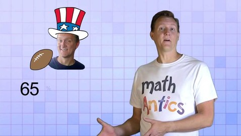 Thumbnail for entry Math Antics - Percents And Equivalent Fractions