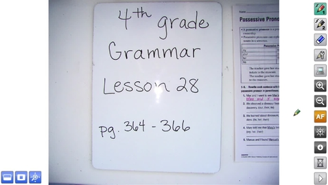 Thumbnail for entry 4.28 Grammar