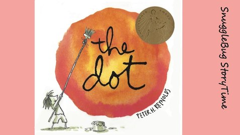 Thumbnail for entry The Dot by Peter H. Reynolds | Read aloud Book for kids