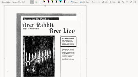 Thumbnail for entry Read Aloud Brer Rebbit