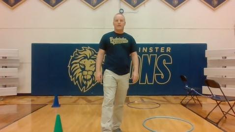 Thumbnail for entry Coach Donatelli PE - 3/31 - Lower School
