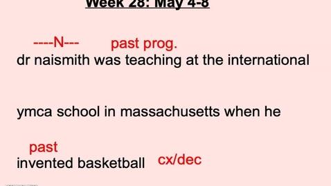 Thumbnail for entry DGP Wk 28 Thursday.mp4