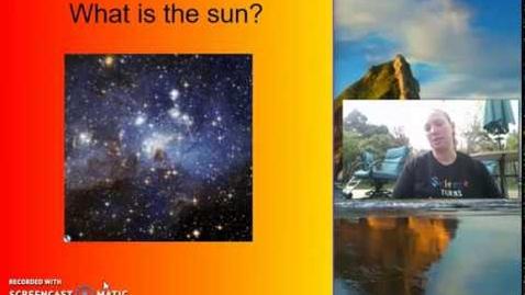 Thumbnail for entry The Sun - Mrs. Mikles teaches 1st Grade