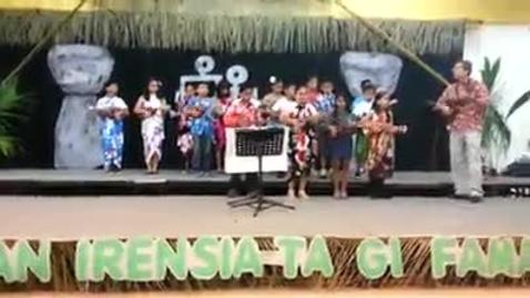 Thumbnail for entry Machananao Ukulele Club Mes Chamorro Program 2014