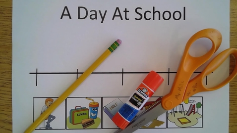 Thumbnail for entry A Day At School Time Line
