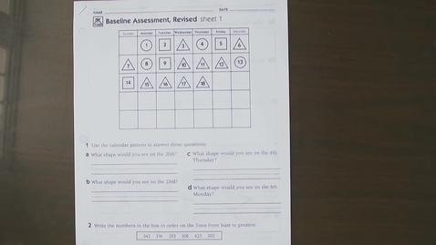 Thumbnail for entry Math Baseline Assessment