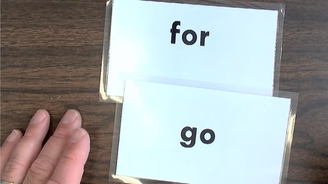 Thumbnail for entry Thursday Sight Word Practice