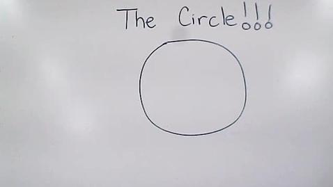 Thumbnail for entry Math - May 21/Circles