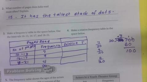 Thumbnail for entry 6th Grade Math 12.3 Part 2