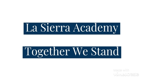 Thumbnail for entry LSA Statement - Together We Stand