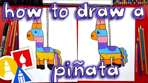 Thumbnail for entry How To Draw A Piñata
