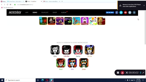 Thumbnail for entry Incredibox Demo