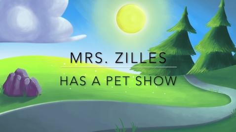 Thumbnail for entry Mrs Zilles Pet Show