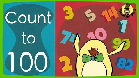 Thumbnail for entry The Singing Walrus | Count to 100 Song