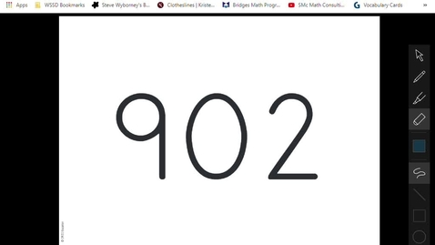 Thumbnail for entry 2nd grade Stepping Stones - 10.8 Subtraction_ Two-digit numbers from three-digit numbers (decomposing tens and hundreds) - Google Chrome 2020-03-20 14-19-44
