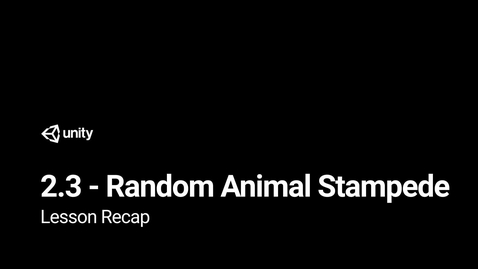 Thumbnail for entry Lesson 2.3 Recap
