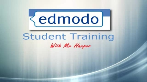 Thumbnail for entry Edmodo student training: How to view folders within a group