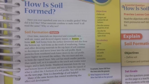 Thumbnail for entry 6th Grade Science - Soil - Monday May 11